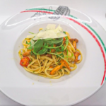 spagetti pfifferlinge